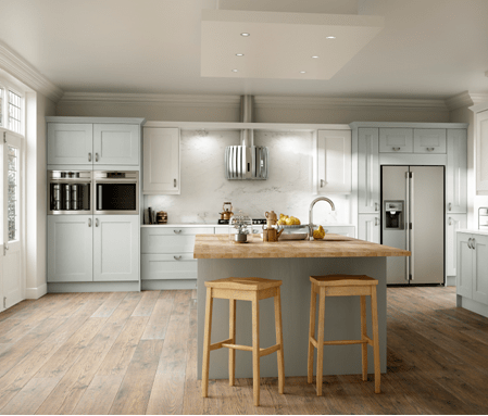The ashbourne ivory paint to order kitchen is just one of the many classic kitchen designs that bettinsons kitchens leicester can install within your home