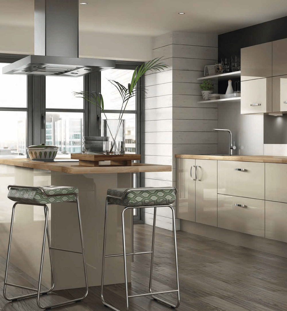 Eye Catching Modern Kitchens at Bettinsons Kitchens Leicester Orlando Kitchen Design