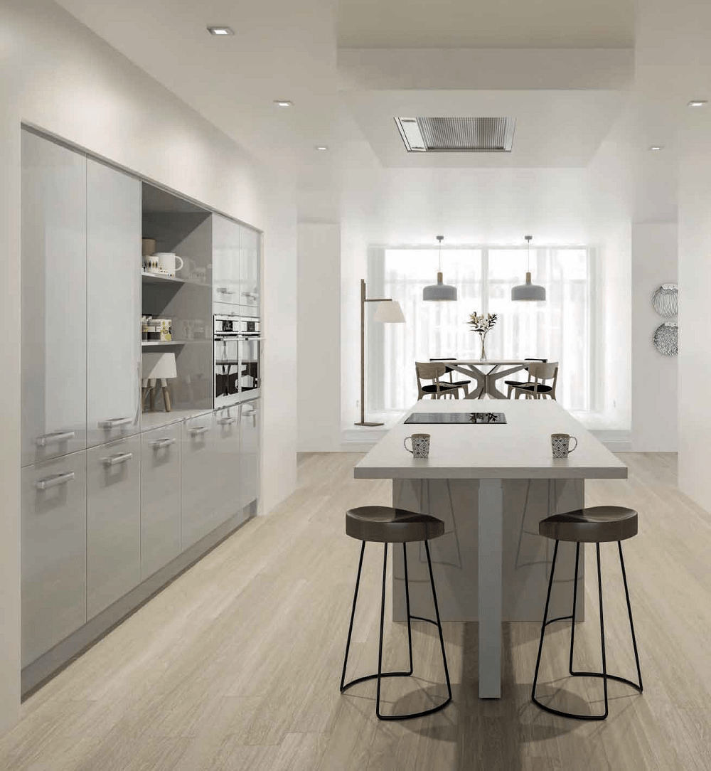 Eye Catching Modern Kitchens at Bettinsons Kitchens Leicester  Woodbury Design